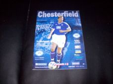 Chesterfield v Blackpool, 2001/02